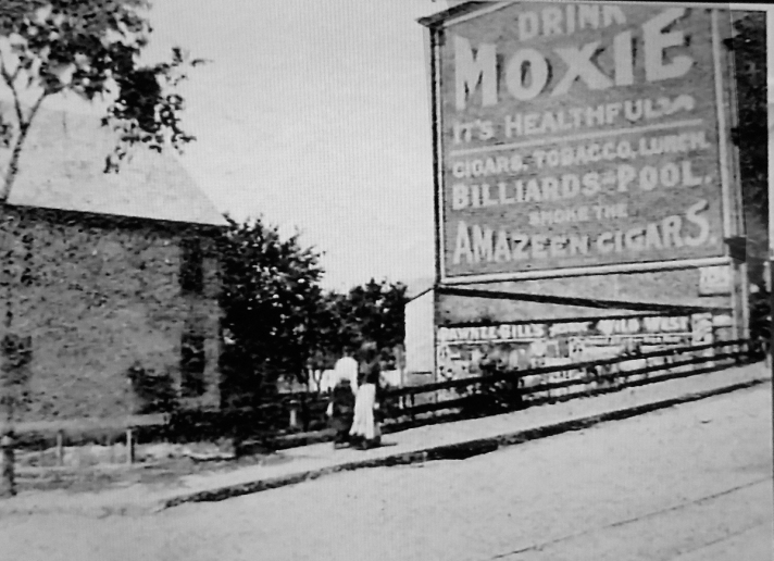 """""""Burdock Park"""" before the Tyler Building was constructed"""