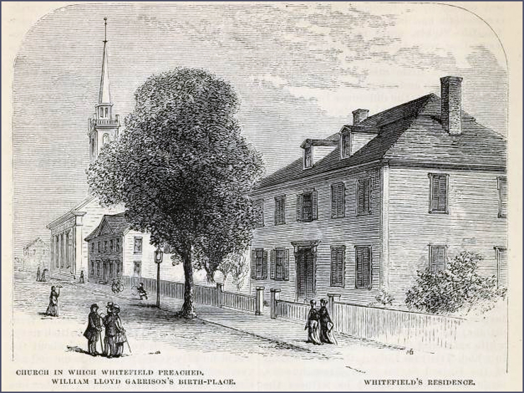 Church where Whitefield preached in Newburyport