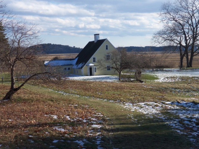 Greenwood Farm trail, and the Payne house