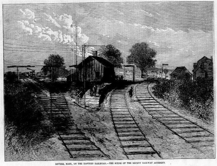 The Great Revere Train wreck, August 26, 1871