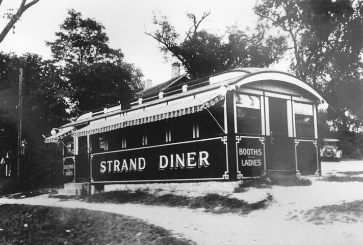 The Strand Diner preceded the Agawam Diner, which now is on Rt. 1
