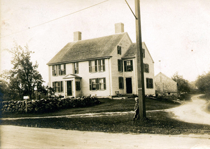 The Abraham Jewett house, now the Village Pancake house, photo courtesy of Steve Spaulding