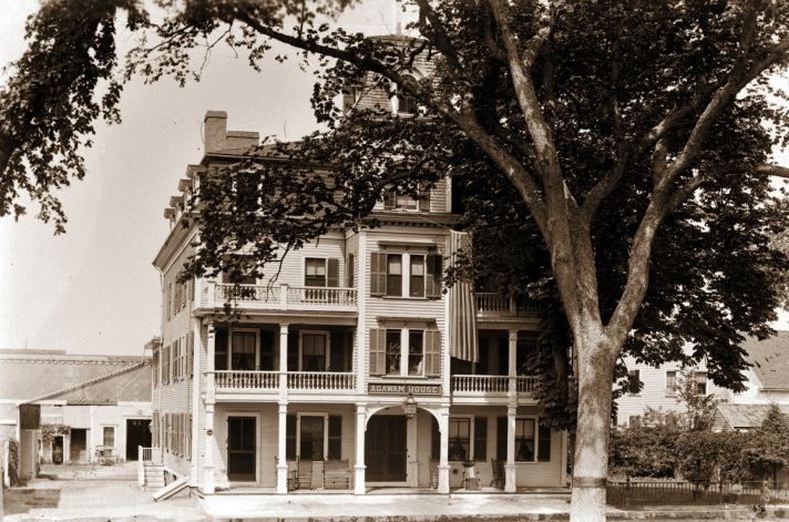 The Agawam Hotel. Photo by George Dexter