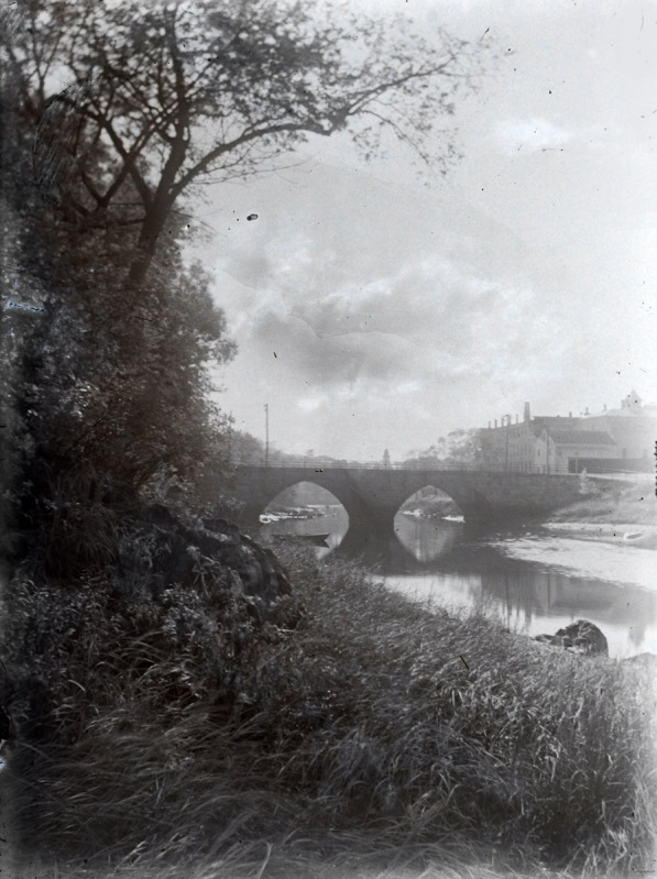 Green St. Bridge and the old Jail by George Dexter