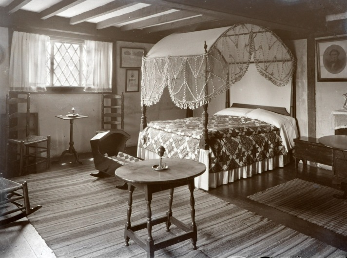 Whipple House First Period bedroom by George Dexter