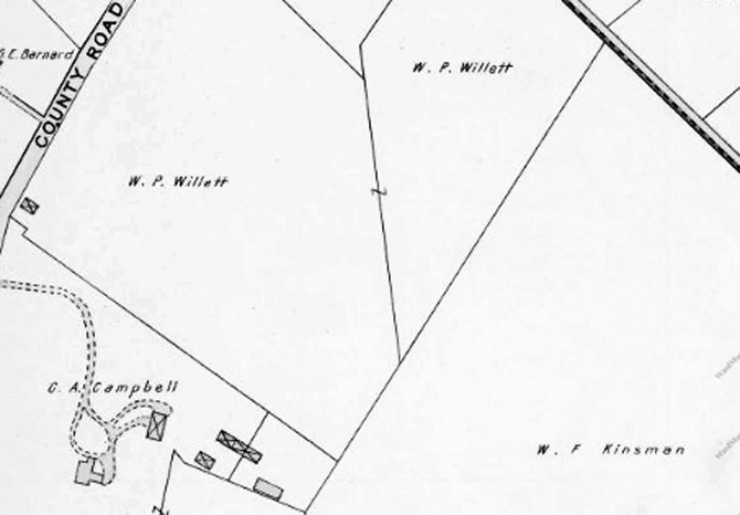 Closeup from the 1910 Ipswich map