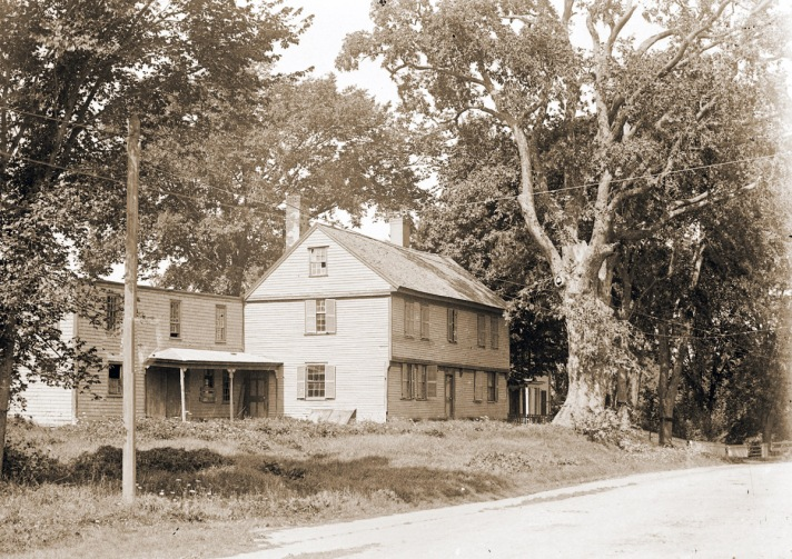 County Rd., Norton house on County Rd. (demolished) by George Dexter