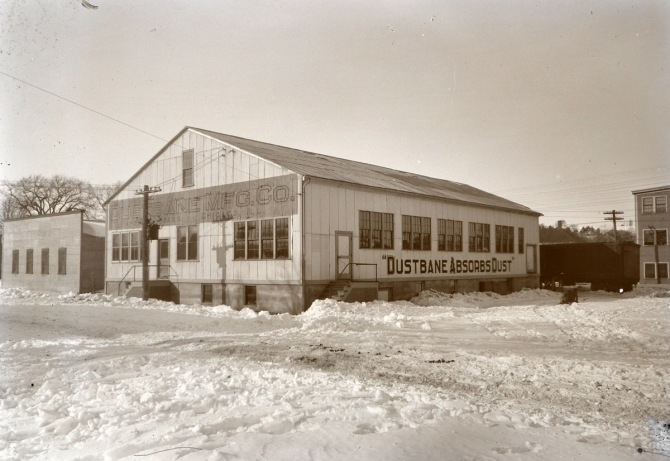 The Dustbane factory, photo by George Dexter