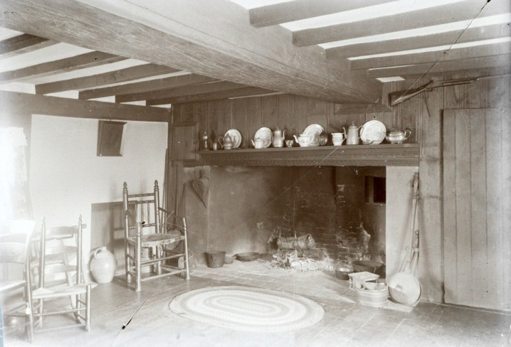 Whipple house fireplace by George Dexter