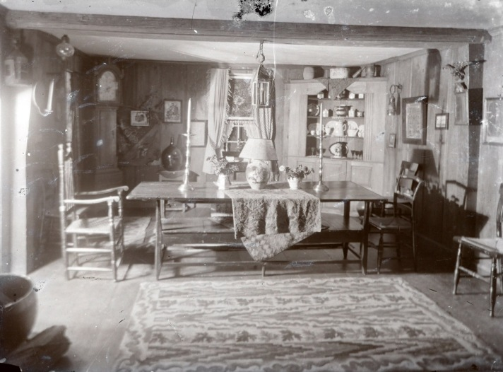unknown First period living room by George Dexter