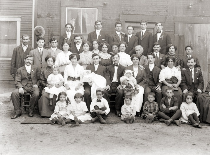 Several generations of Mill Workers