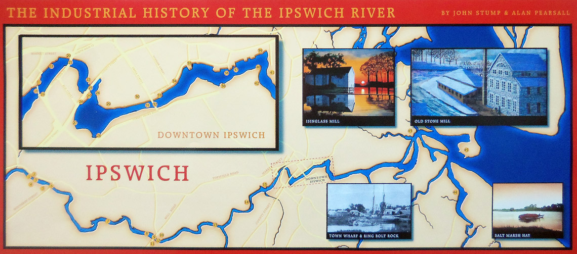 The Industrial History of the Ipswich River, produced by John Stump and Alan Pearsall