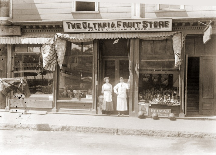 Olympia Fruit Store by George Dexter