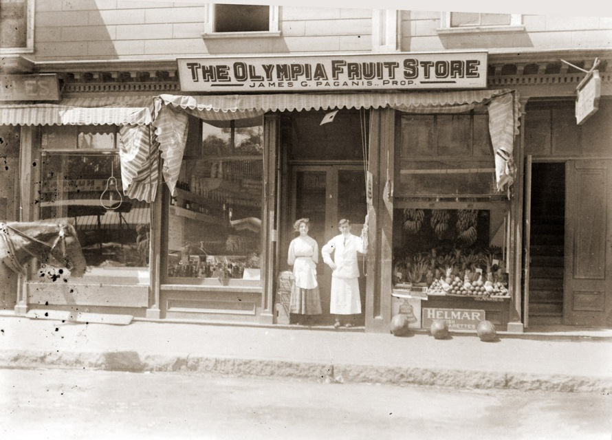 Olympia Fruit store, Ipswich