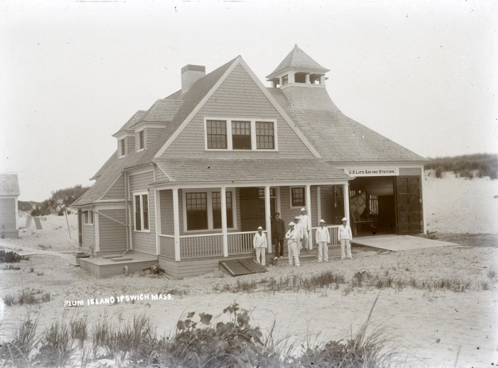 Plum Island Life Saving Station by George Dexter