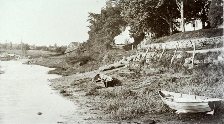 Ipswich River and boats by George Dexter