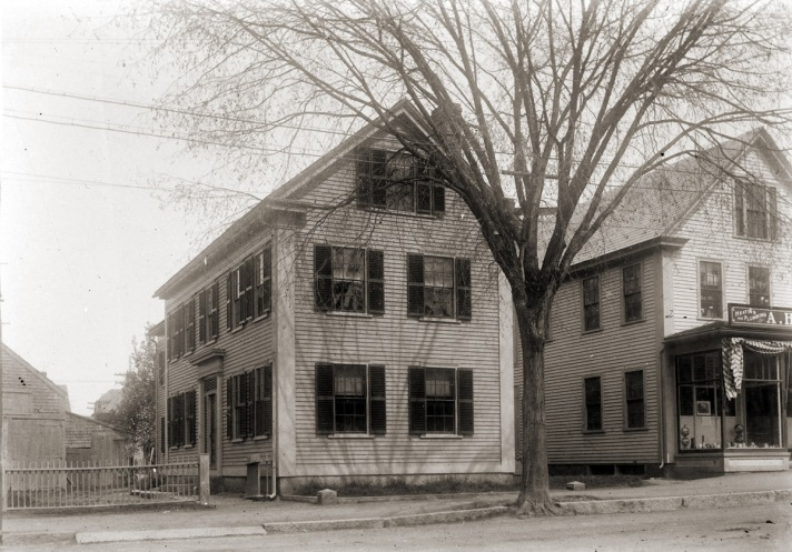 Market St. house and store. Photo by George Dexter