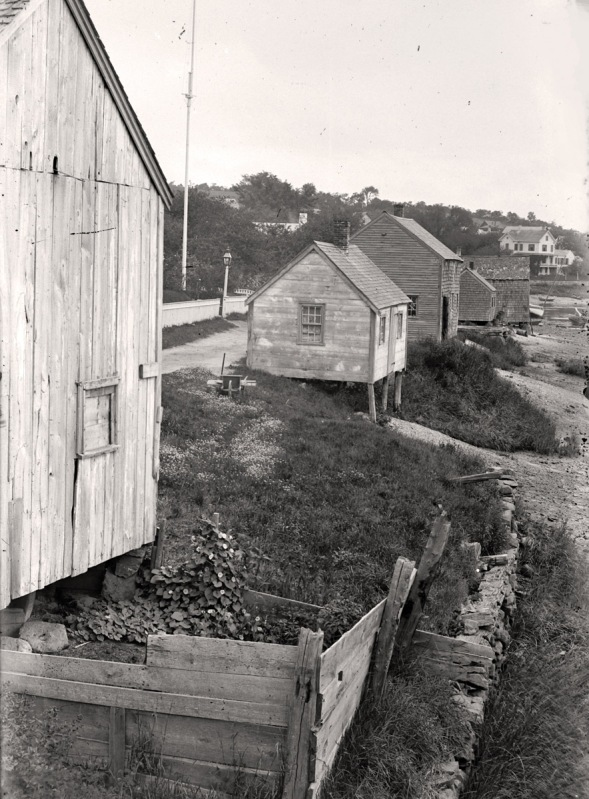 Water st.clam shacks. Photo by George Dexter