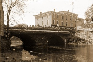 The Choate Bridge in Ipswich, photo by George Dexter