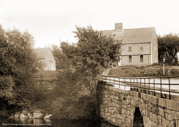The Green St. Bridge and the Howard House. Photo by George Dexter.