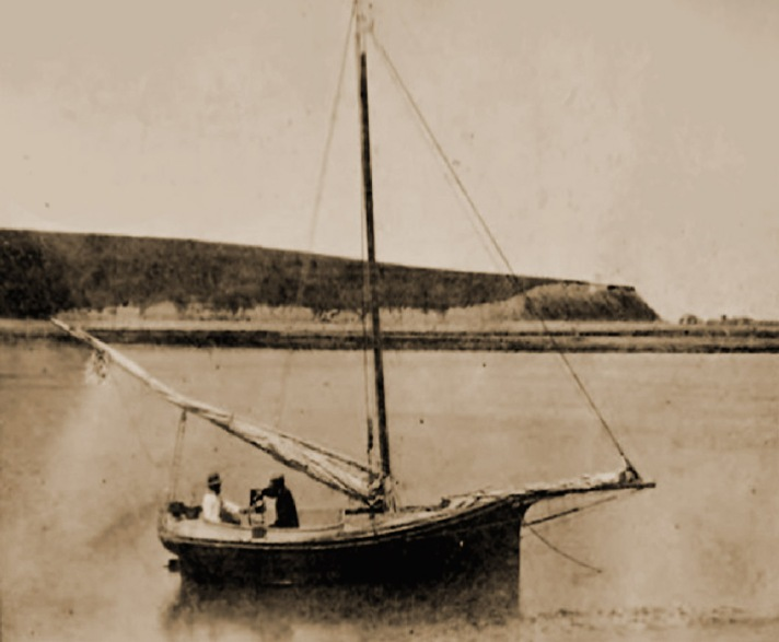 This photo of Little Neck was taken around 1864, when it was still being used as summer pasturage. The photographer is unknown.
