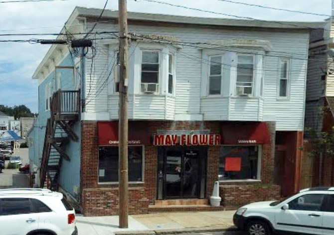 The Mayflower Restaurant operates in the former location of Russell's Lunch.