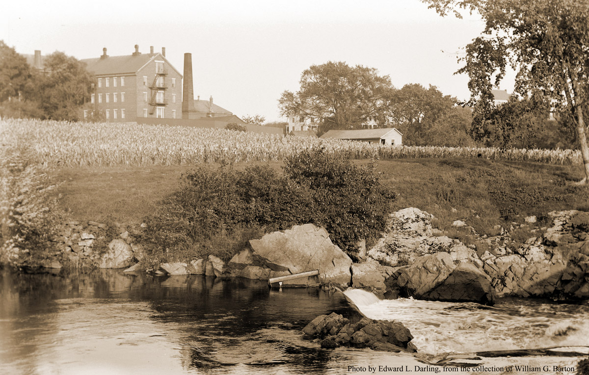 The Ipswich jail, photo from the County St. bridge