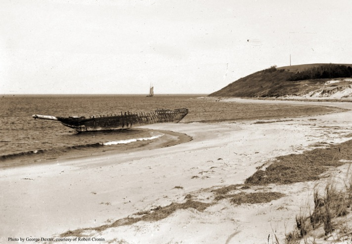 Wreck of the the Edward S. Evelyth or the Ada K. Damon.