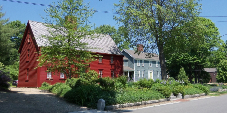 First Period houses on Water St.