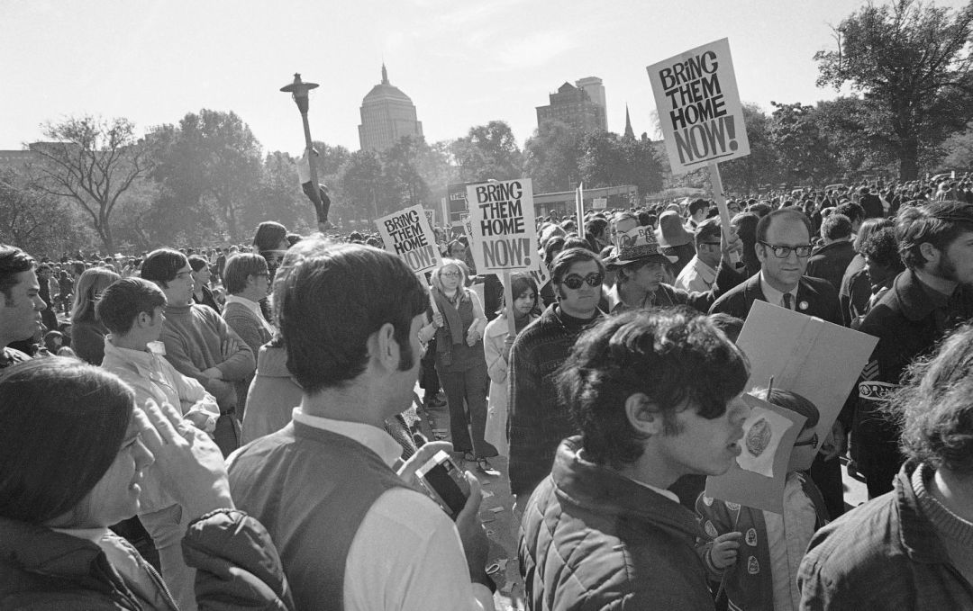 Boston protests against Vietnam War