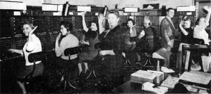 Ipswich telephone exchange story by Harold Bowen