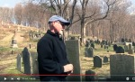 A walk in the Old North Burying Ground with Ipswich MA town historian Gordon Harris
