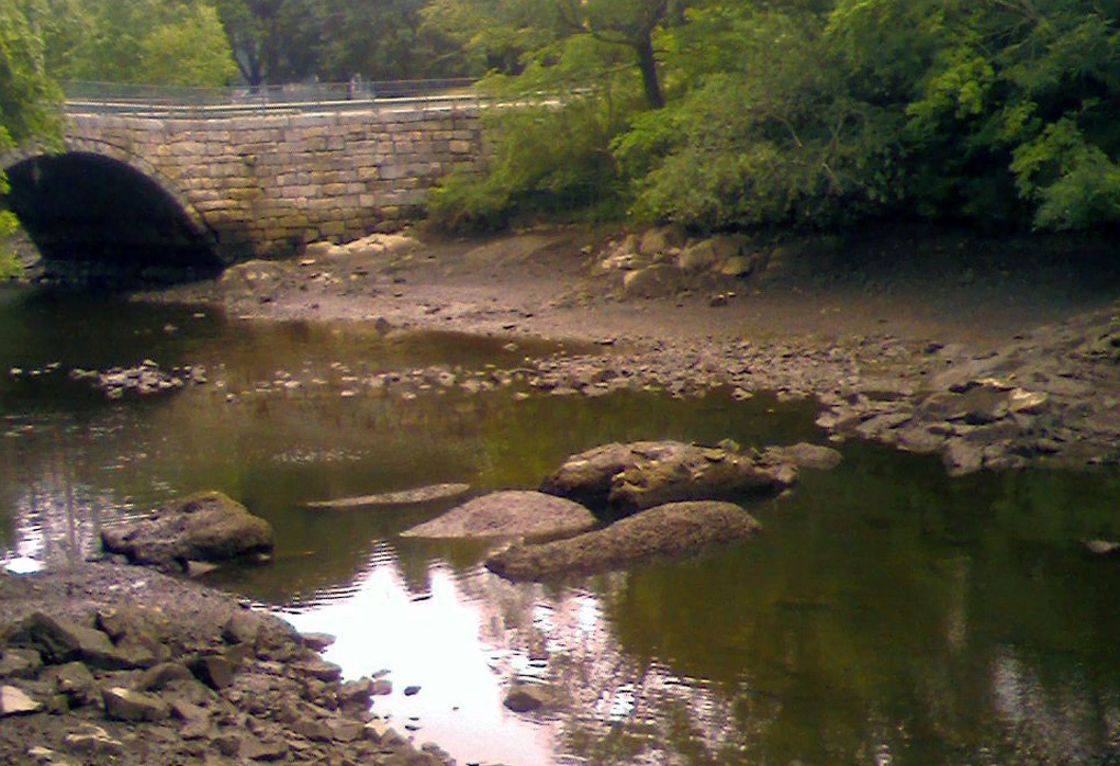 WPA dam on Green Street in Ipswich