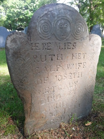 Ruth Metcalf, after cleaning