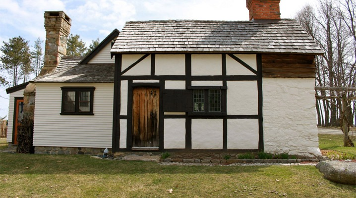 The Shatswell Planters Cottage on the Wendel estate in Ipswich
