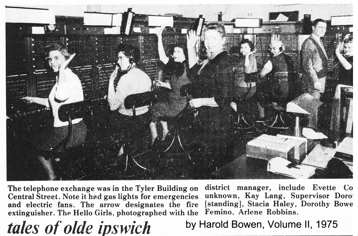 """Hello girls"" telephone operators"