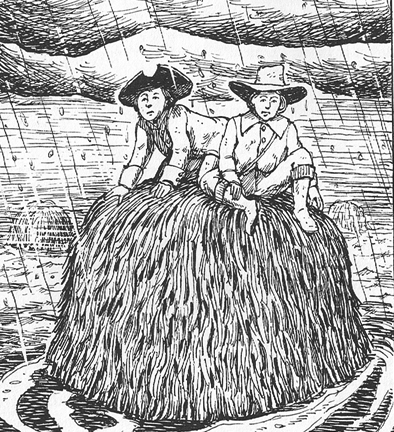 Illustration by Alec Gillman in Sam Sherman's book, Ipswich: Stories from the River's Mouth