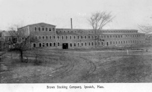 Brown Stocking Mill, Ipswich MA