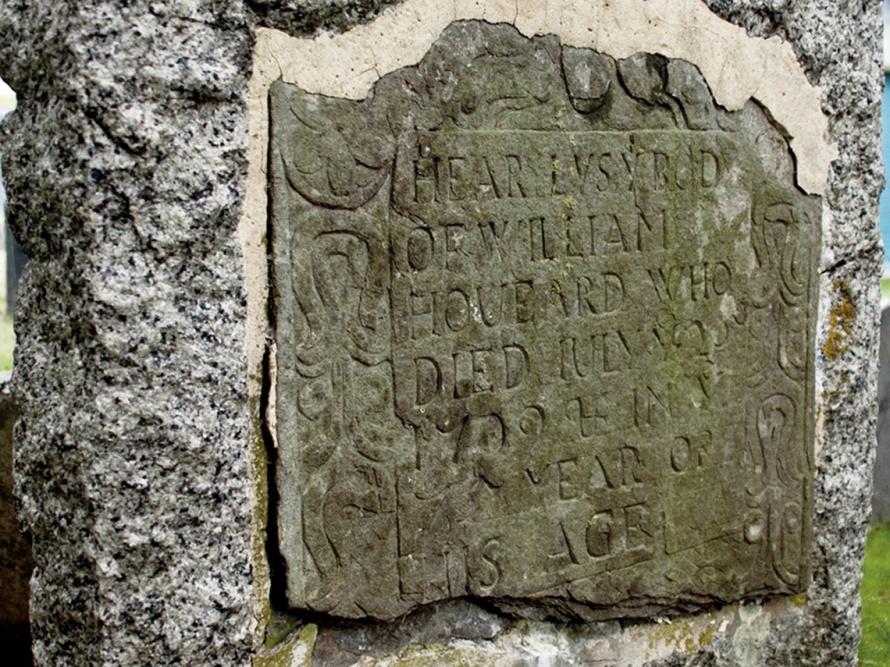 Gravestone of William Howard