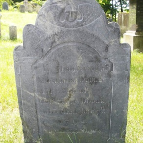 Nathaniel Dodge Old North Burying Ground Ipswich MA