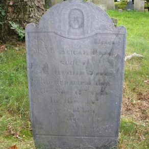 Abigail Dodge, Old North Burying Ground Ipswich MA