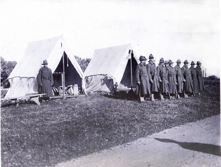 In 1918 a severe influenza epidemic hit, and did not spare Ipswich. The infected were kept in tents on the hospital grounds.