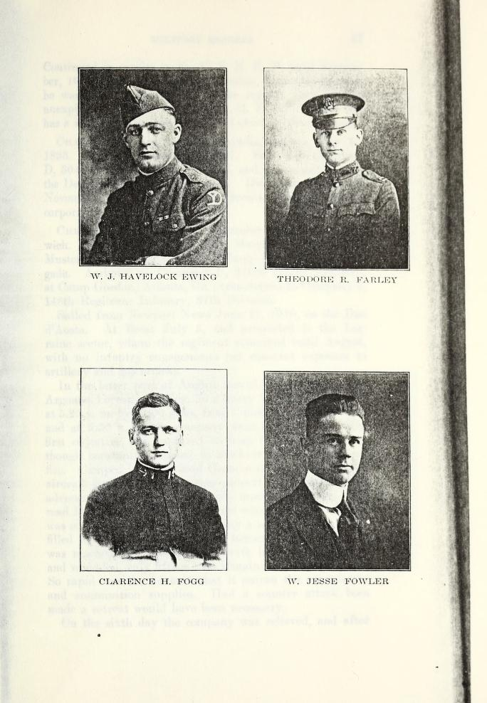 Ipswich MA veterans of World War 1