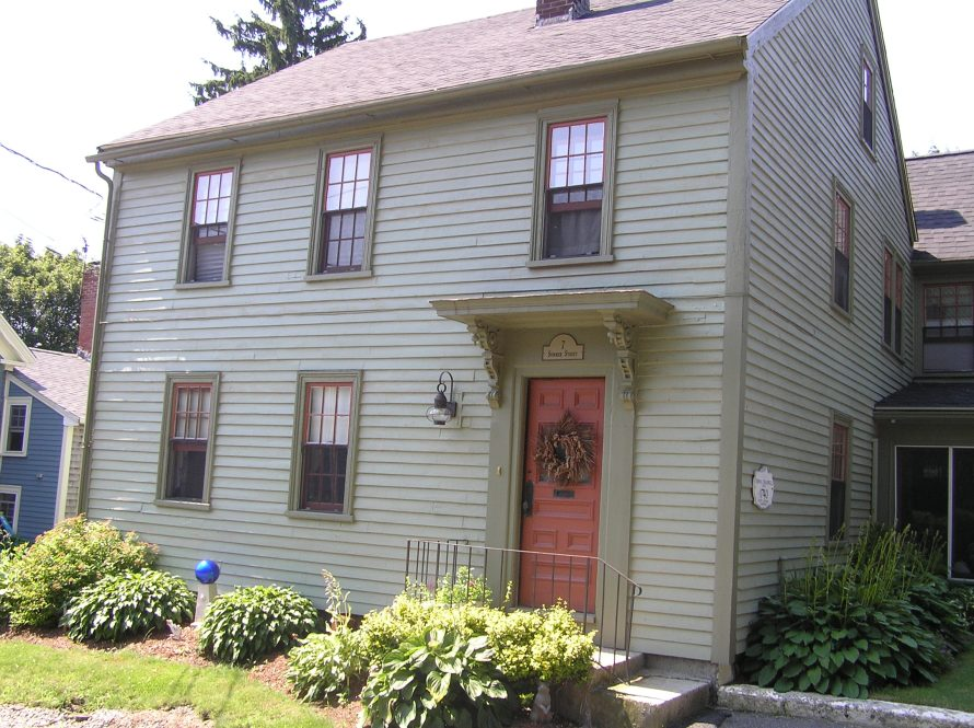 Thomas Treadwell house, 7 Summer St., circa 1740