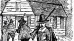 "Puritans warned out strangers and announced that the ""town is full"""