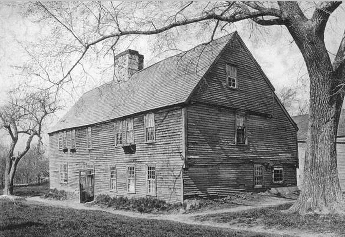 First Period Construction. Featured Image: The Whipple House ...