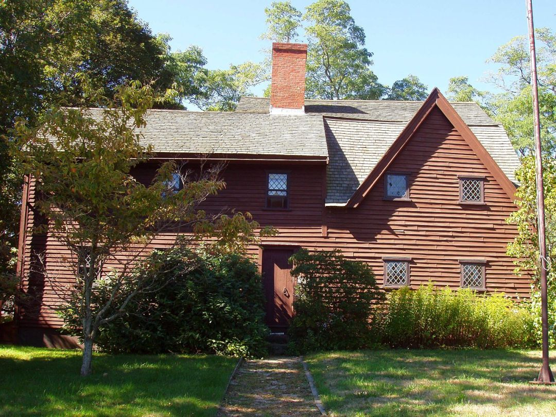 First period houses of essex county historic ipswich for Mass home builders