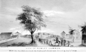 View of Rowley Common woodsketch, 1839