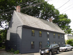 Ambrose Gale House, 17 Franklin St. Marblehead MA 1663