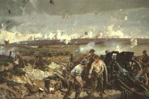 The Battle of Vimy Ridge by Richard jack